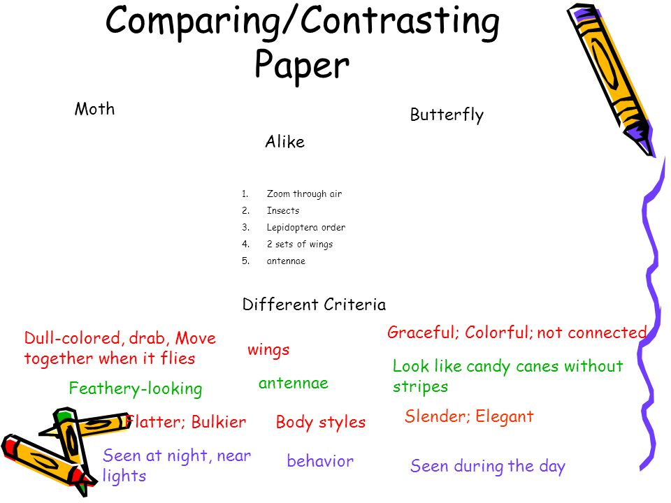 Comparing/Contrasting Paper