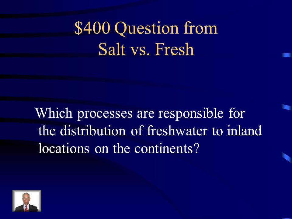$400 Question from Salt vs. Fresh