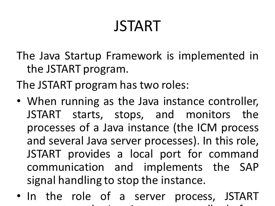 SAP NetWeaver 7 3 AS Java Introduction - ppt download