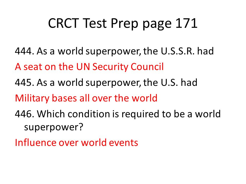 CRCT Test Prep page 171