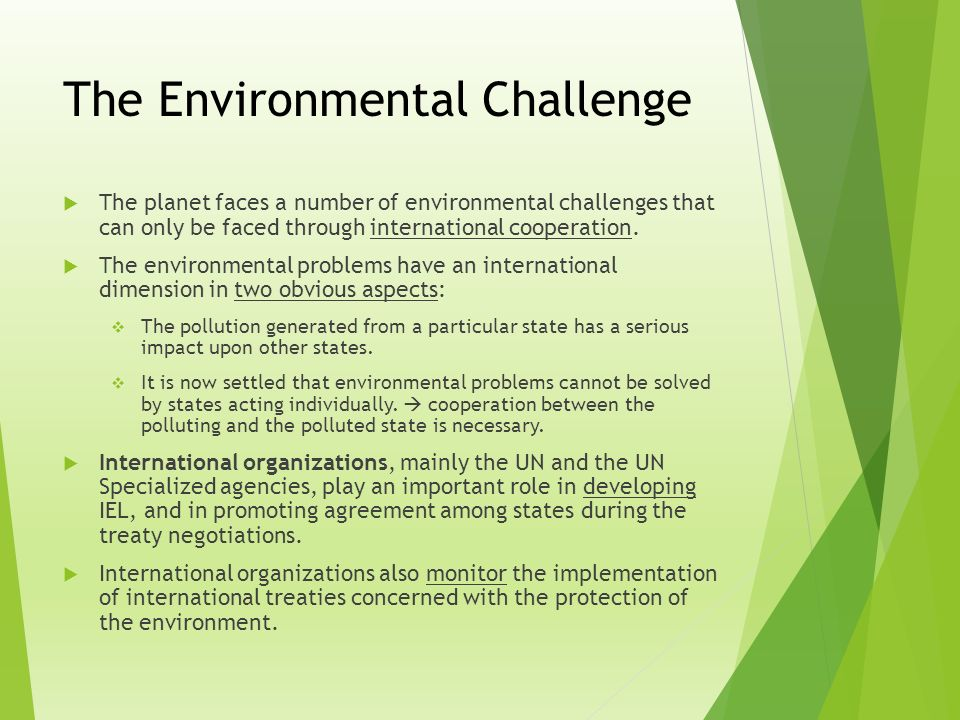 Introduction To International Environmental Law Iel Ppt Video