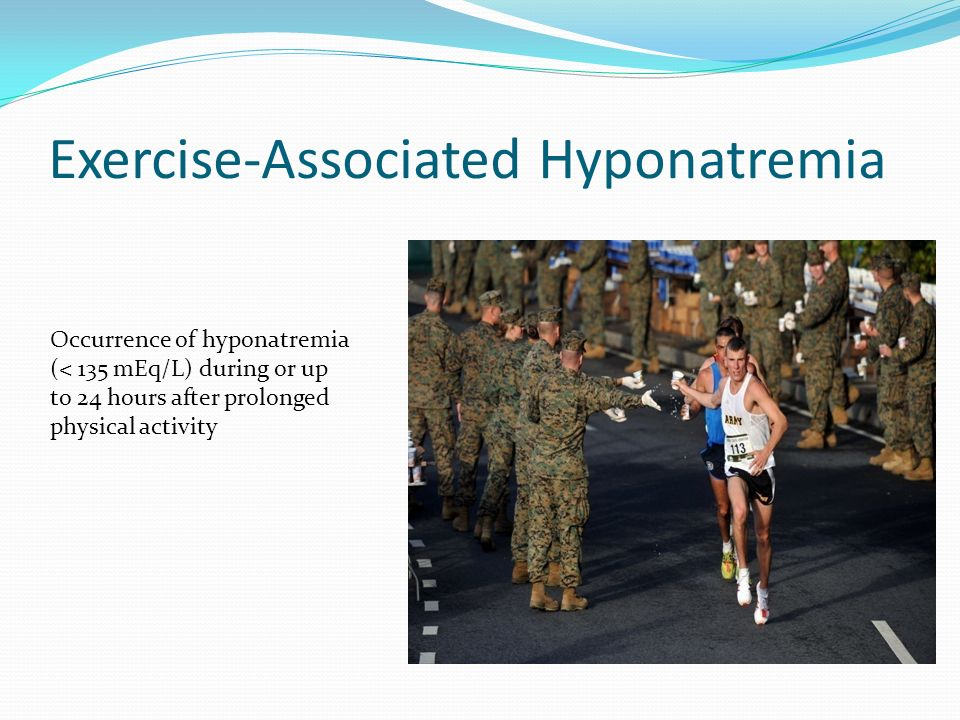 Exercise-Associated Hyponatremia