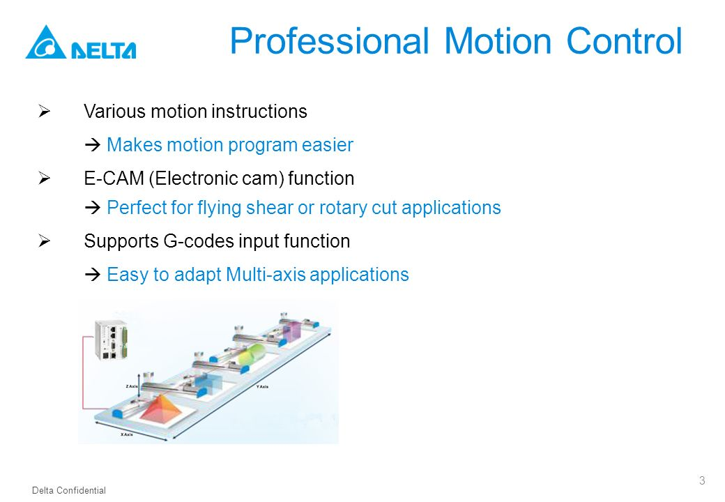 Delta PLC DVP-MC Series Network Type Motion Controller - ppt video