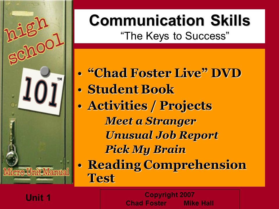 Communication Skills The Keys to Success