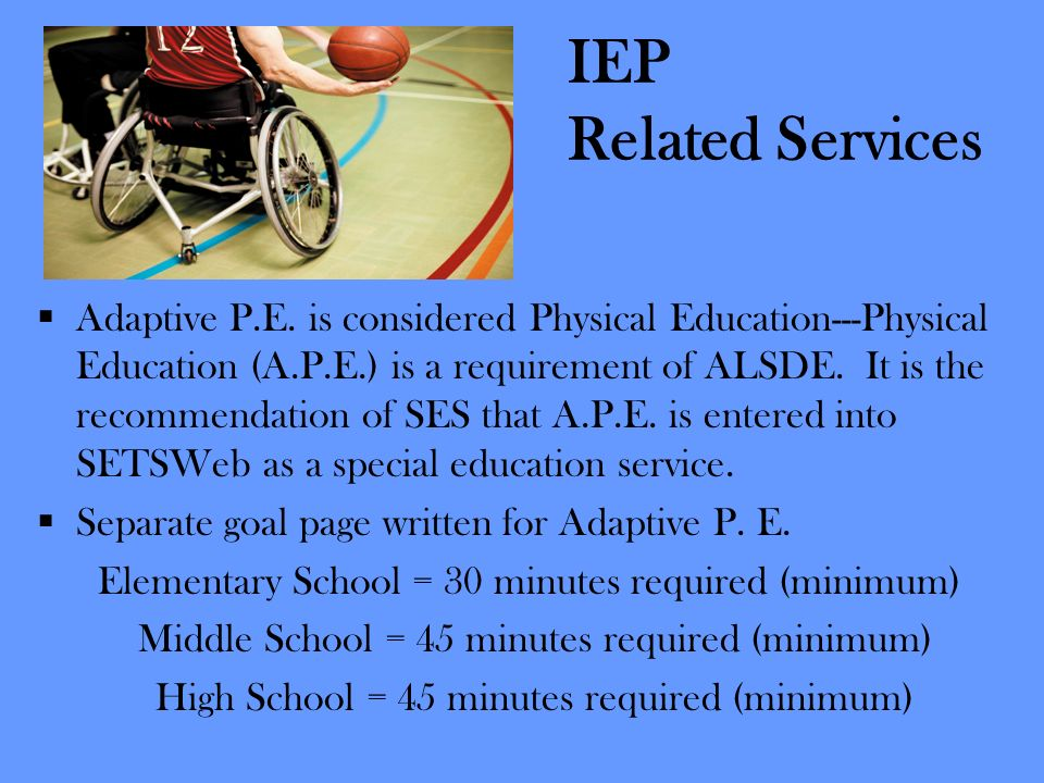 IEP Related Services