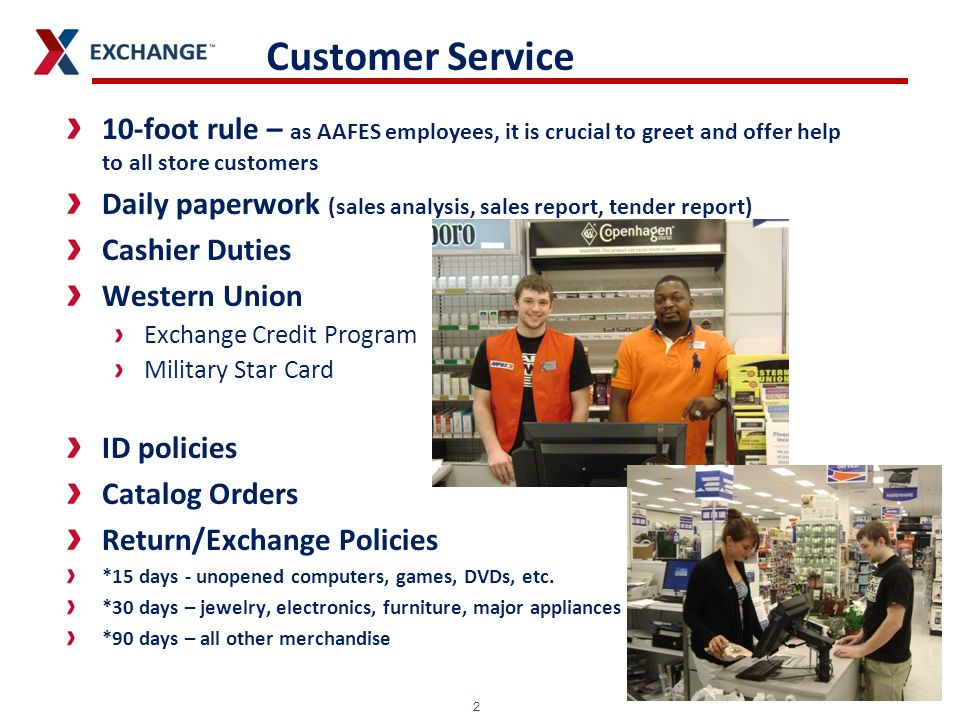 Minnesota to Alaska: The AAFES Experience - ppt video online
