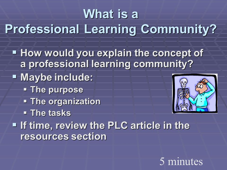 What is a Professional Learning Community