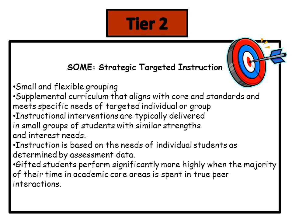 Gifted Education Gate And Response To Intervention Rti Ppt