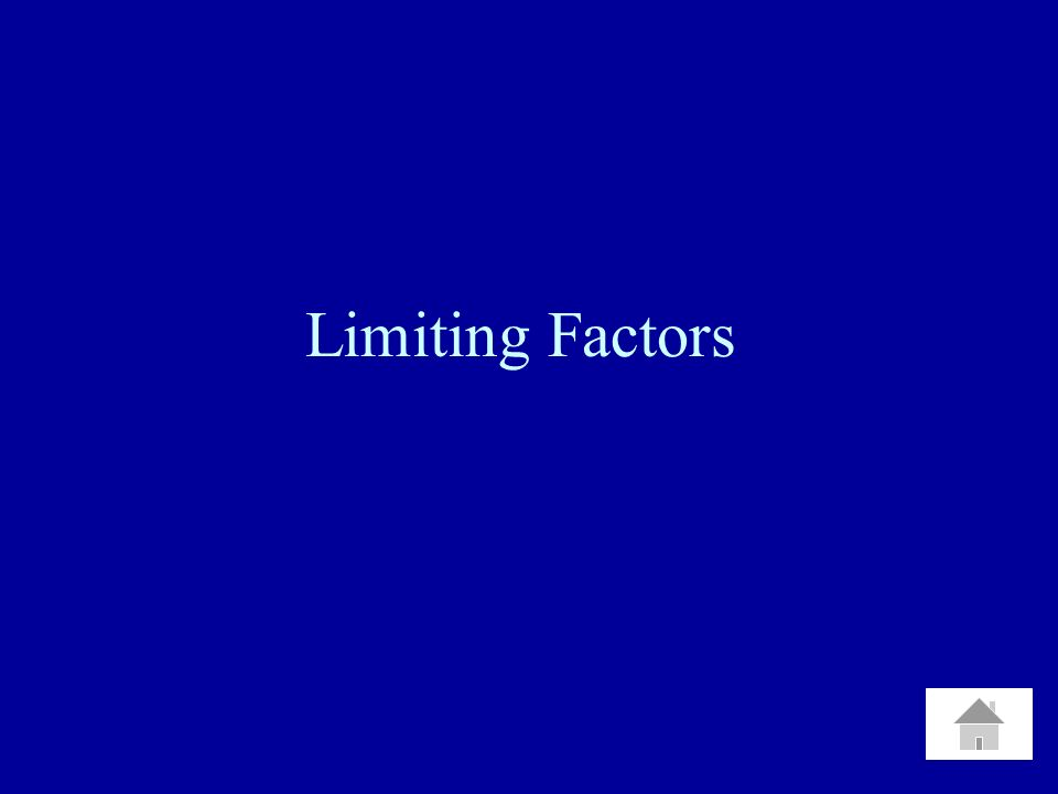 Limiting Factors
