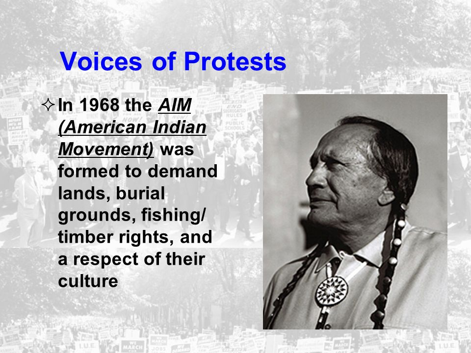 Voices of Protests