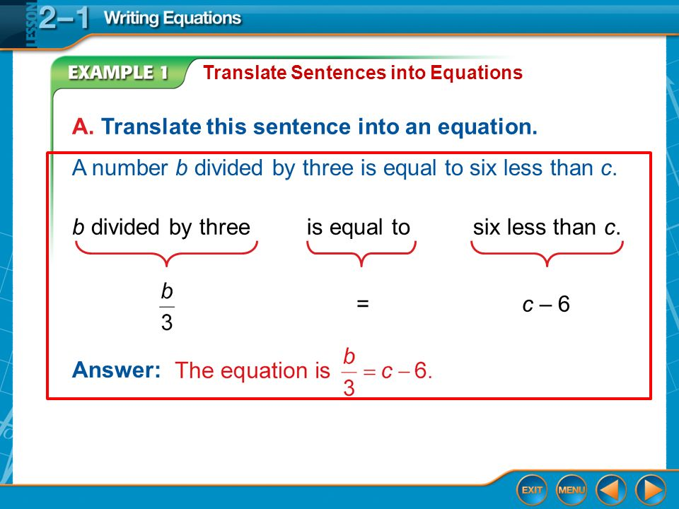 Write The Verbal Expressions Into An Algebraic Expression Ppt