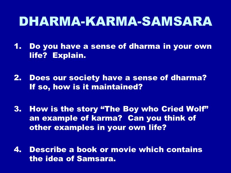 HINDUISM KEY BELIEFS ATMAN: The innermost self in all ...