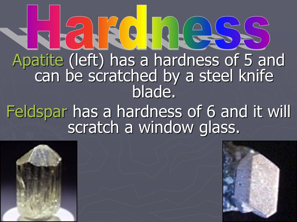 Feldspar has a hardness of 6 and it will scratch a window glass.