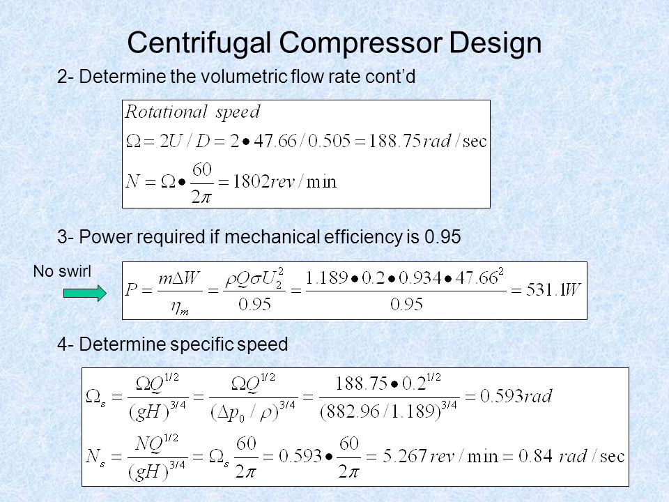 Turbomachinery Centrifugal Compressors Class ppt video online download