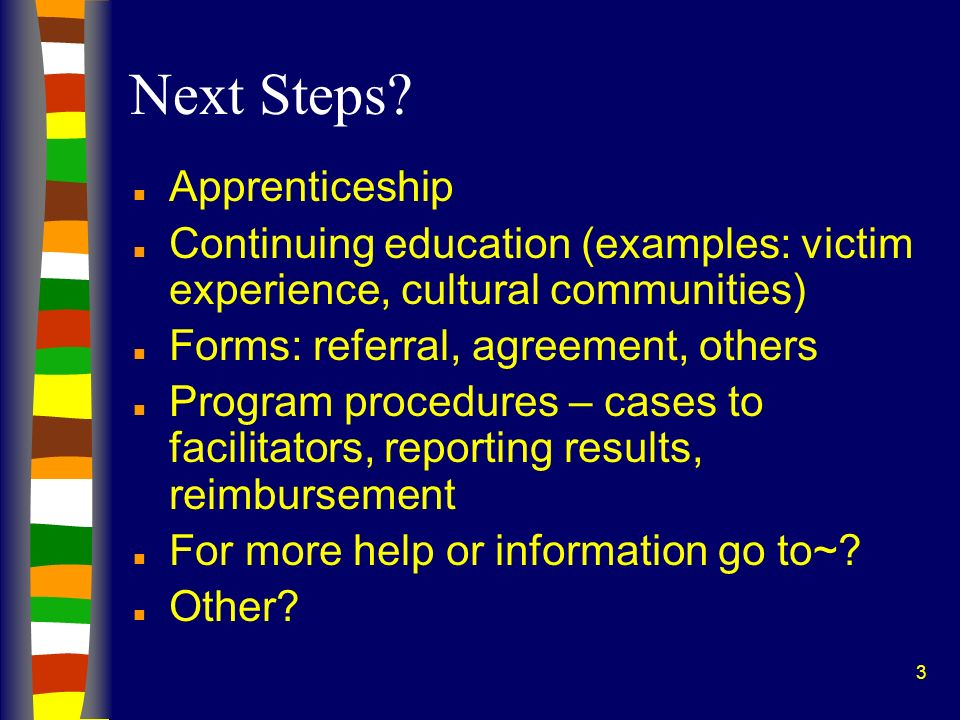 Next Steps Apprenticeship