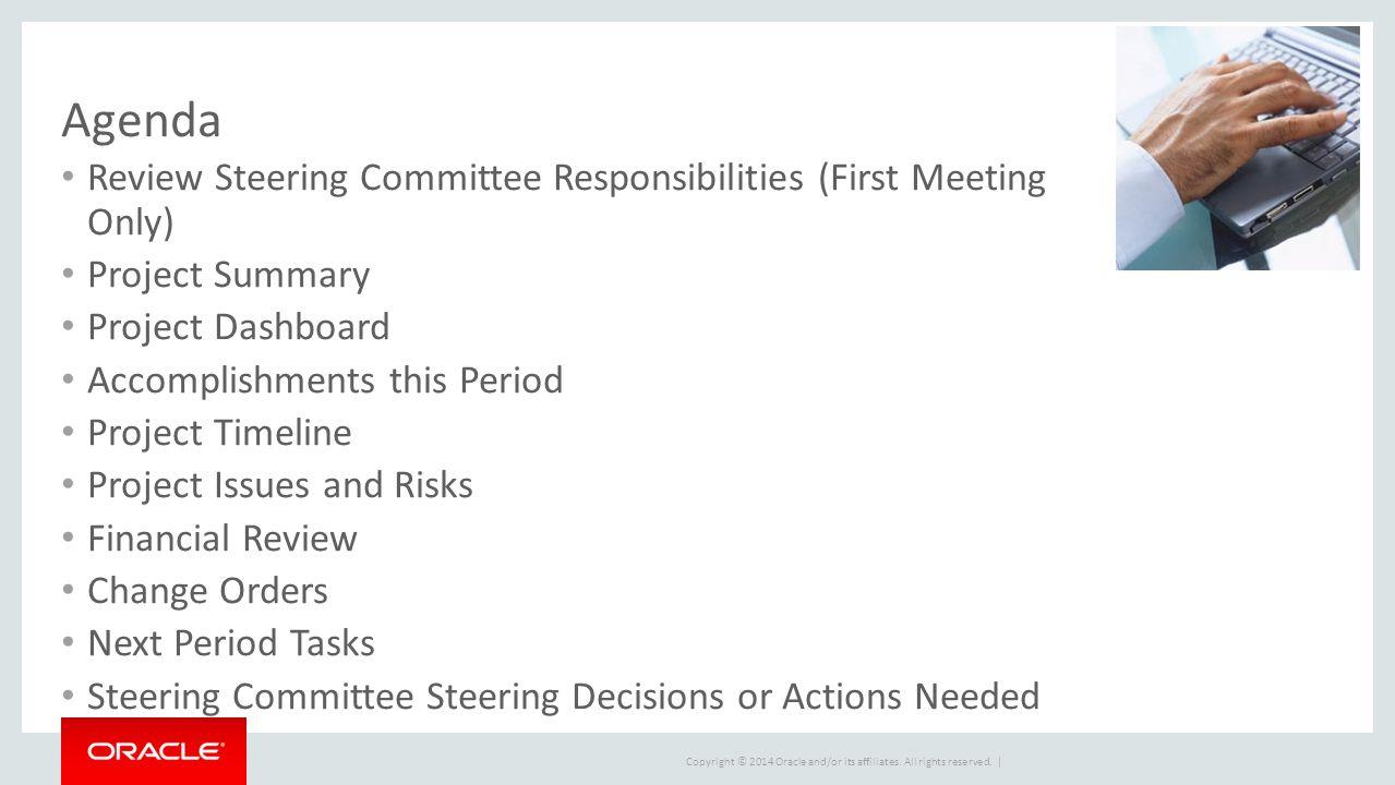 executive steering committee presentation