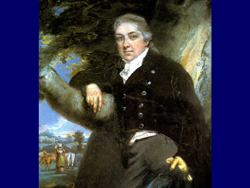 Edward Jenner (1749–l823) the father of vaccination.
