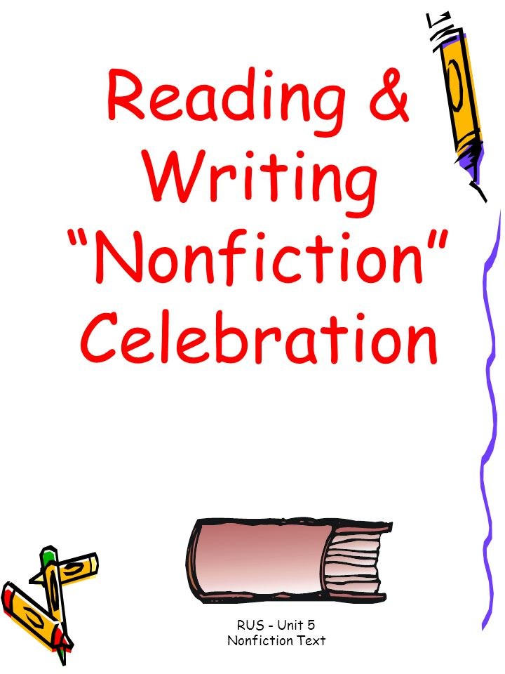 Reading & Writing Nonfiction Celebration