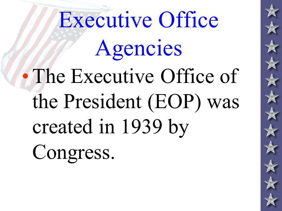 Executive Office Agencies