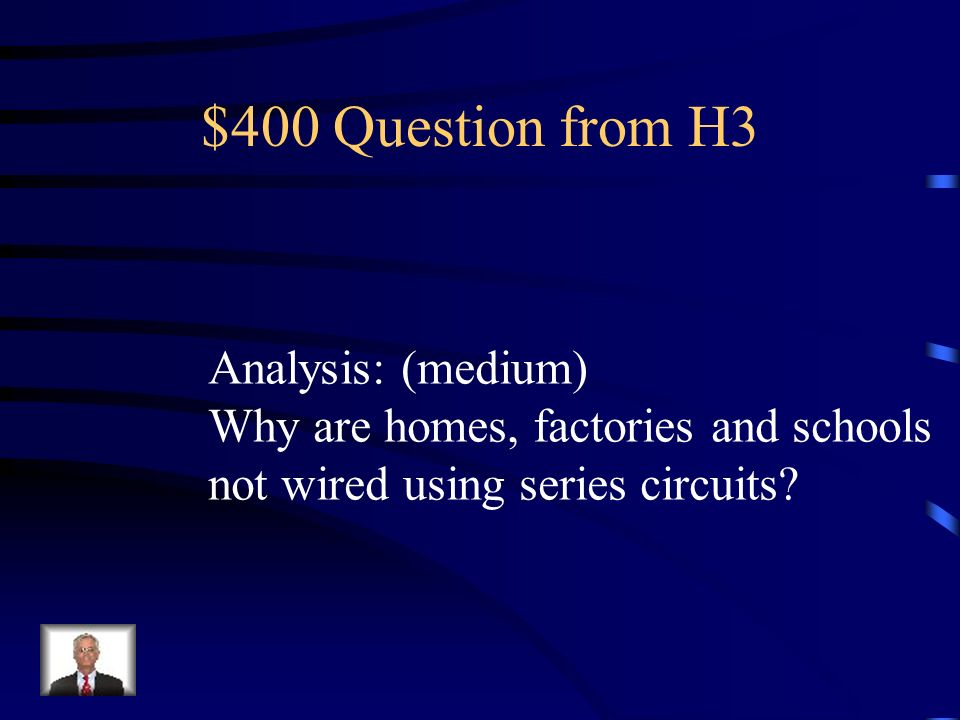 $400 Question from H3 Analysis: (medium)