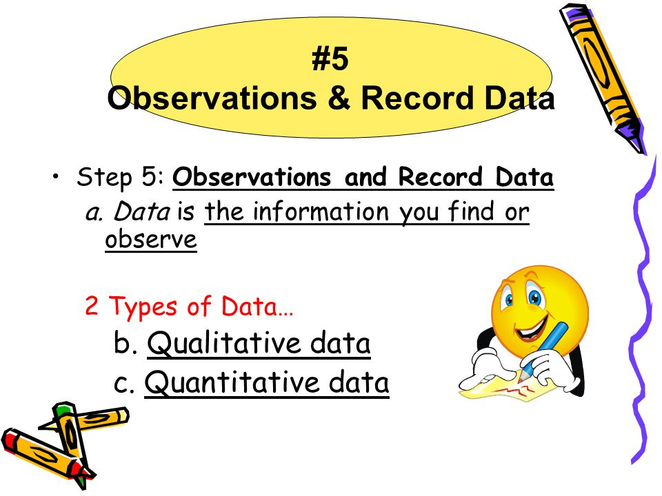 #5 Observations & Record Data