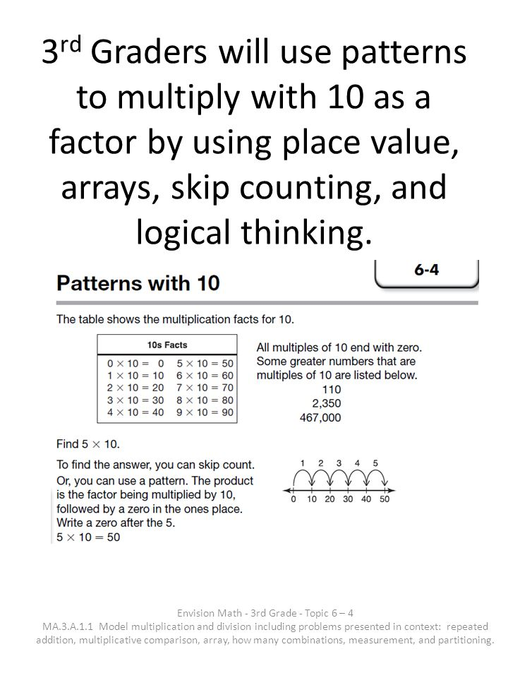 Envision Math 3rd Grade Topic Ppt Download