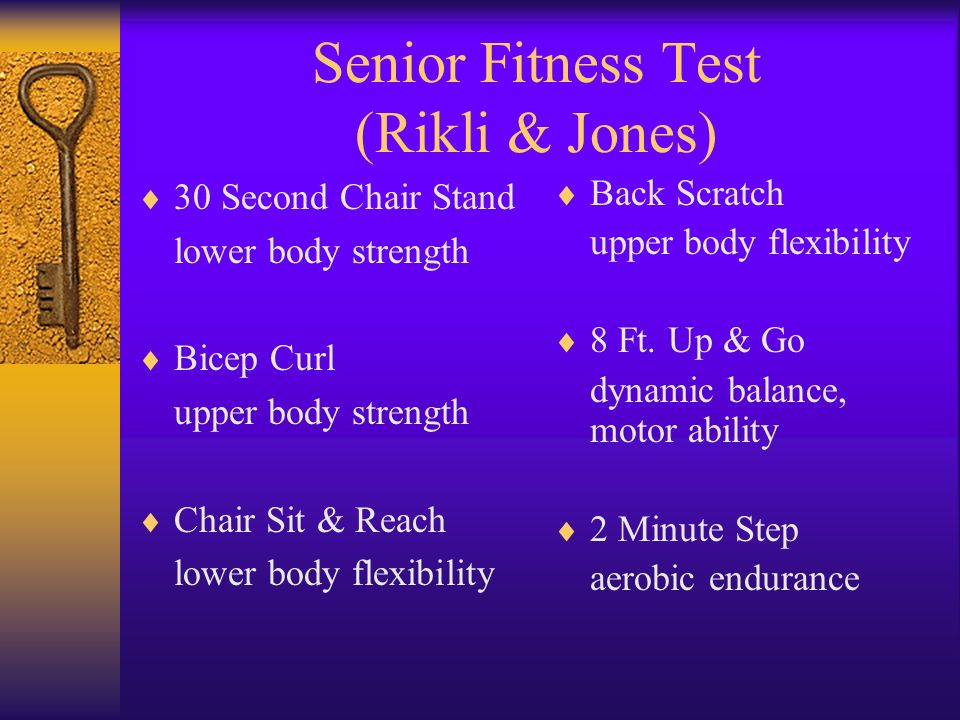 Functional Fitness Normative Scores for Community-Residing ...