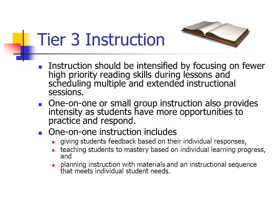 Tier 3 Instruction