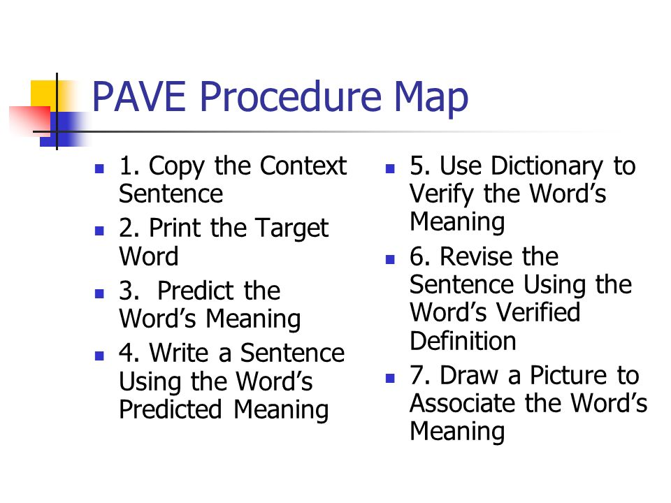 Chapter 12 Word Learning Strategies - ppt video online download