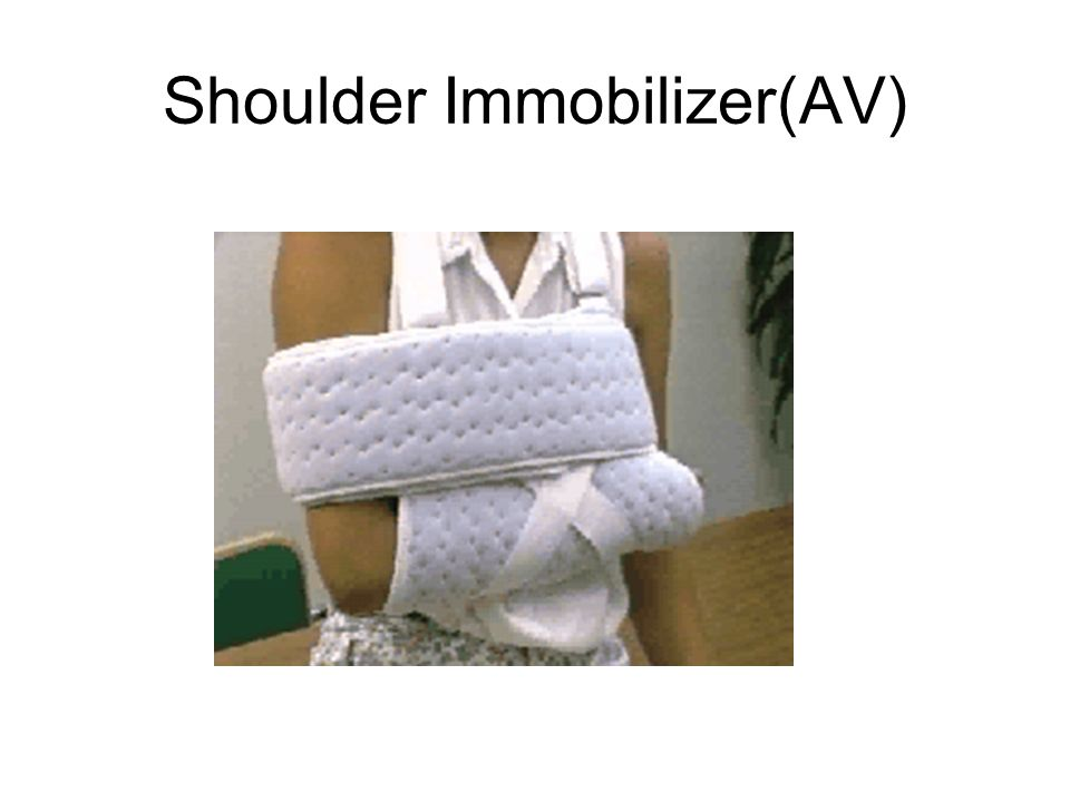 Shoulder Immobilizer(AV)