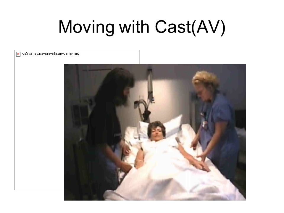Moving with Cast(AV)
