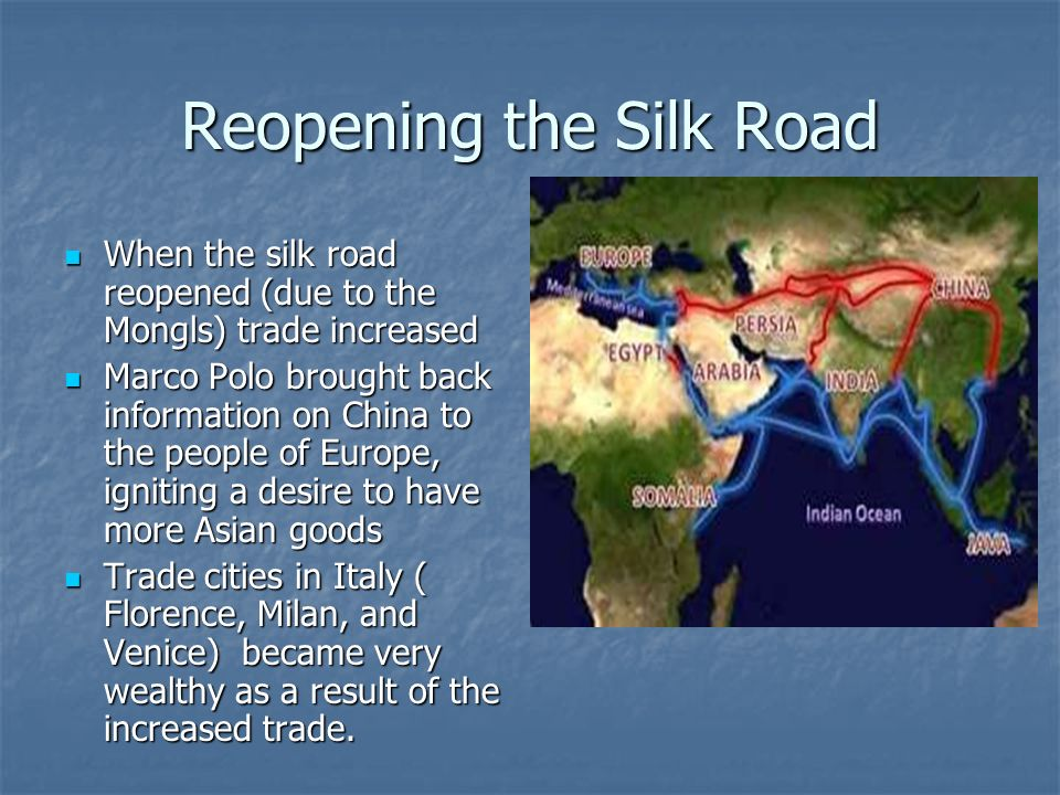 Reopening the Silk Road