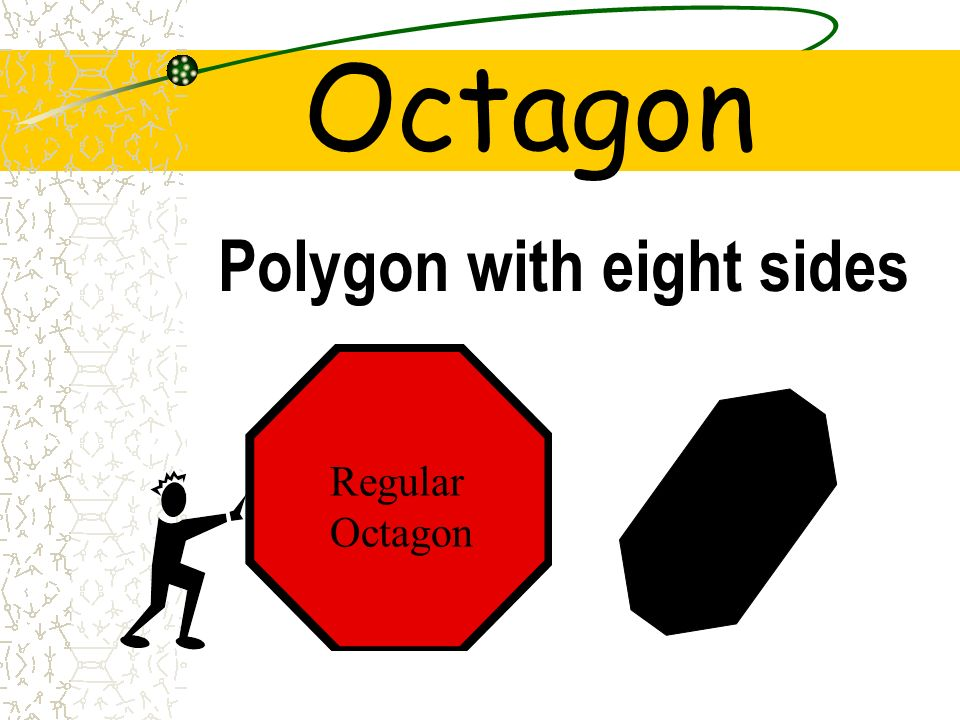 Octagon Polygon with eight sides Regular Octagon