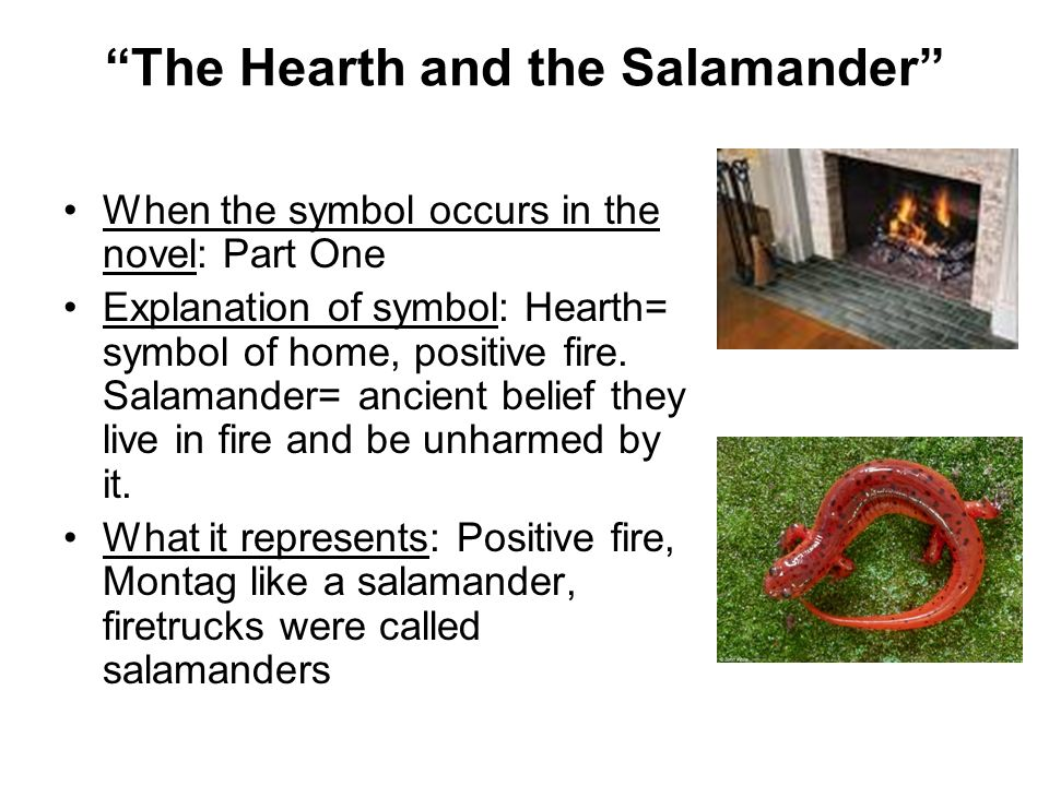 Fahrenheit 451 Symbols Ppt Download