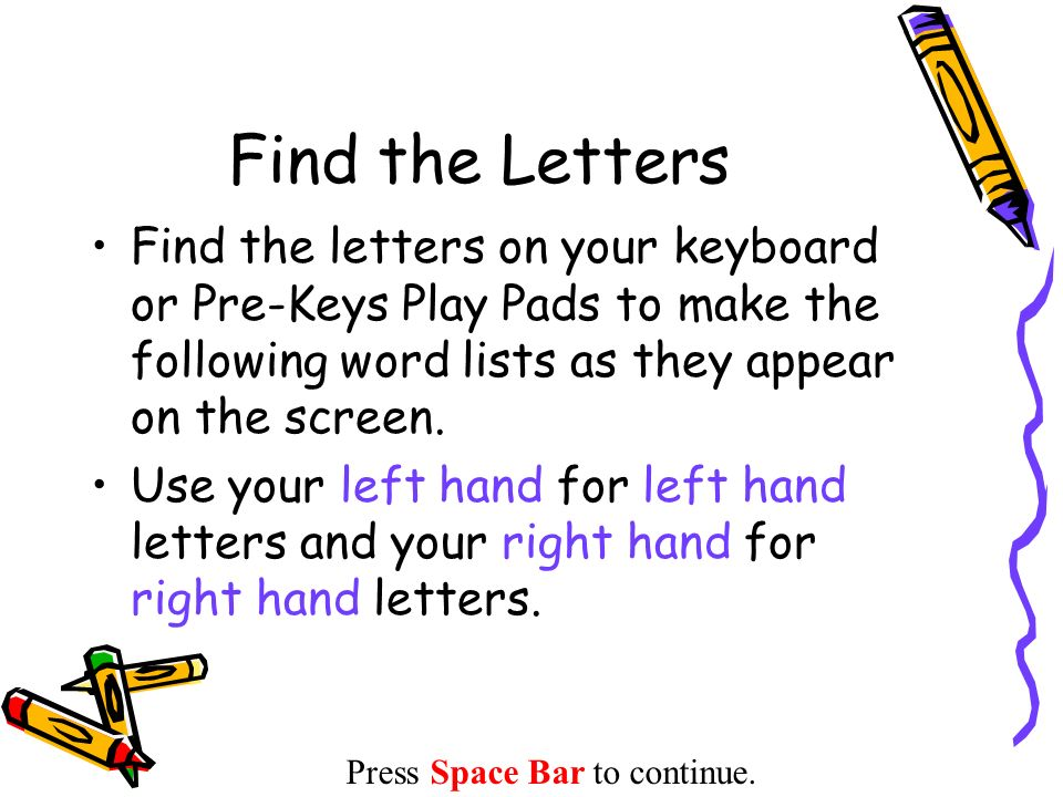 make a word with the following letters find the letters find the letters on your keyboard or pre 2717