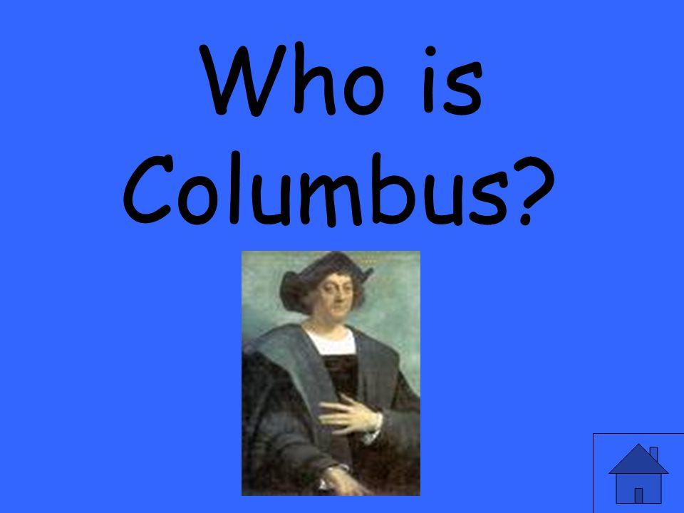 Who is Columbus
