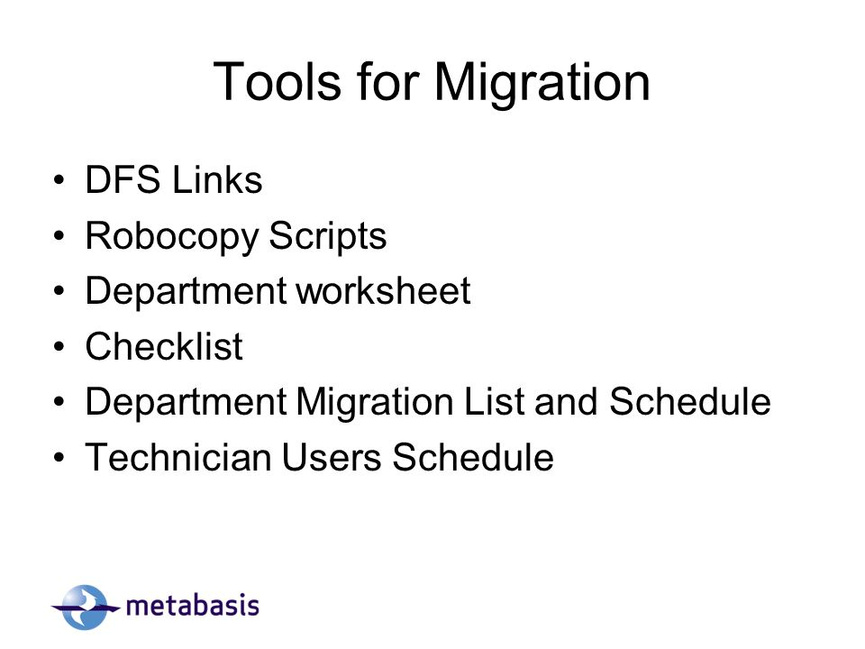 Data Migration Plan  - ppt download
