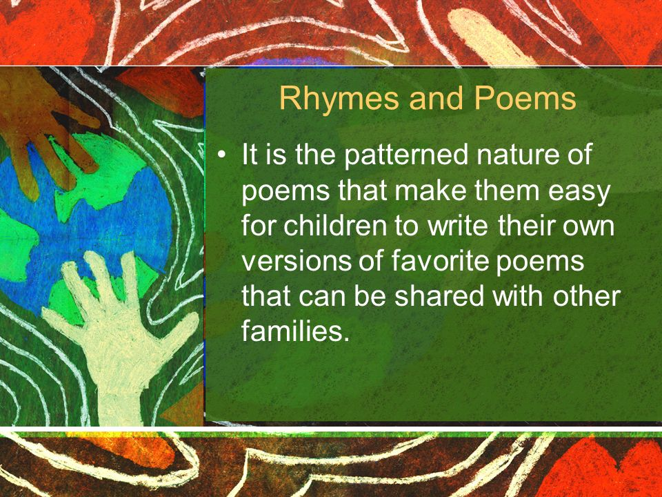 Rhymes and Poems