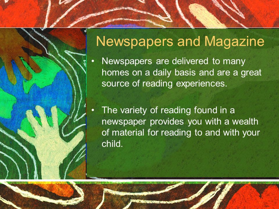 Newspapers and Magazine