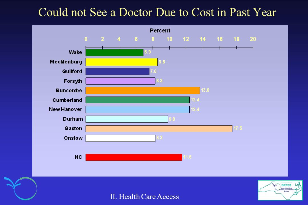 Could not See a Doctor Due to Cost in Past Year