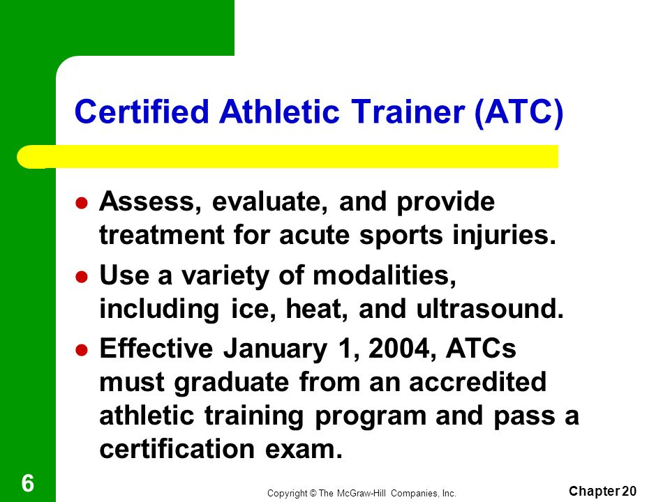 Chapter 20 Sports Medicine Ppt Download