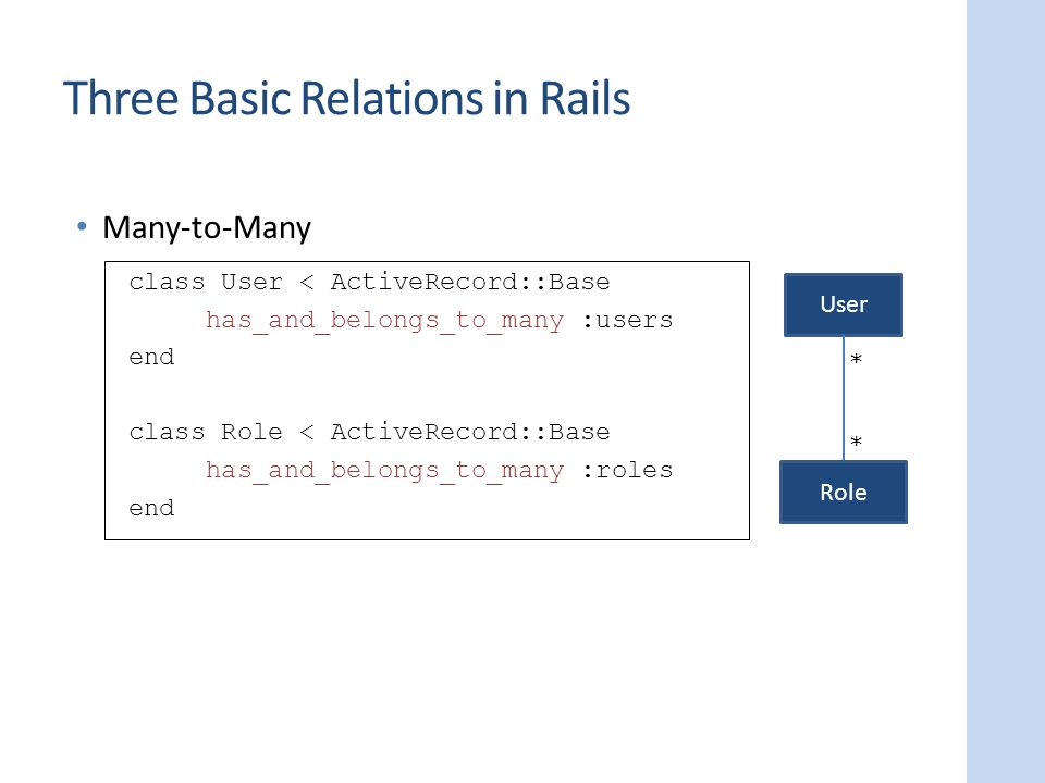 Data model property inference and repair ppt download three basic relations in rails ccuart Gallery