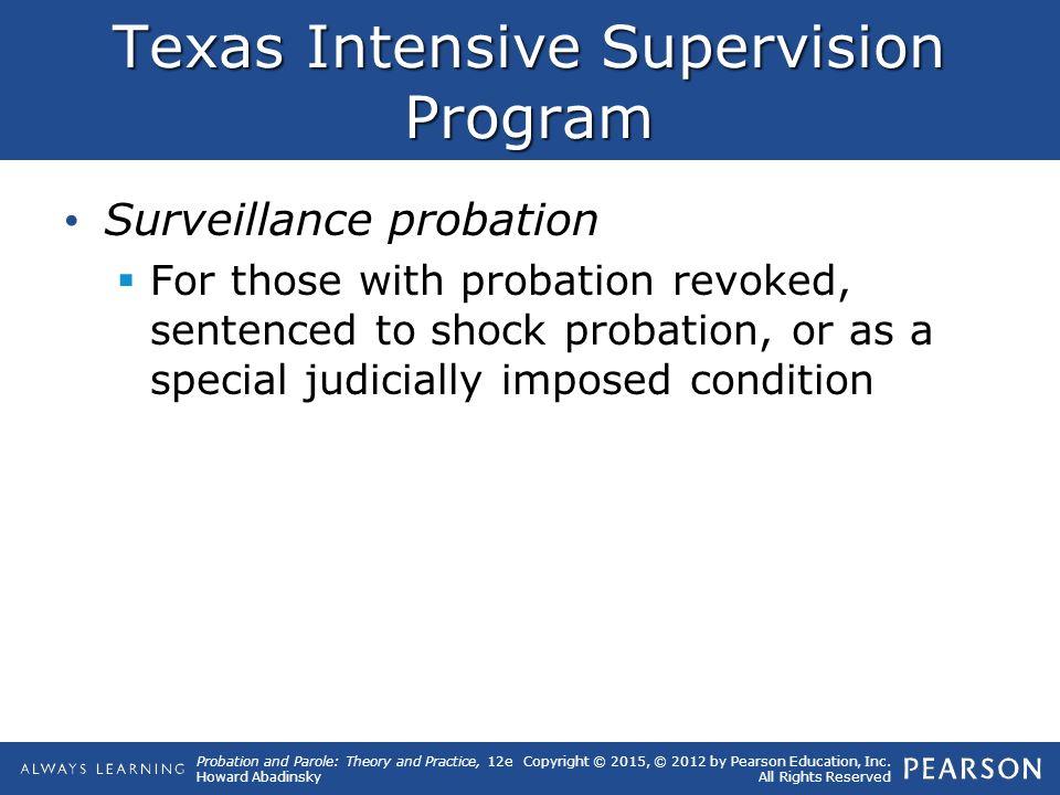 shock probation texas