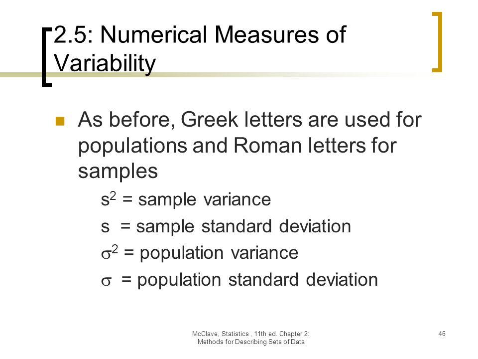 Chapter 2 Methods For Describing Sets Of Data Ppt Download