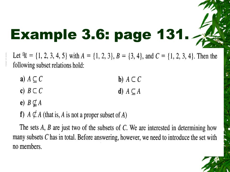 Example 3.6: page 131.