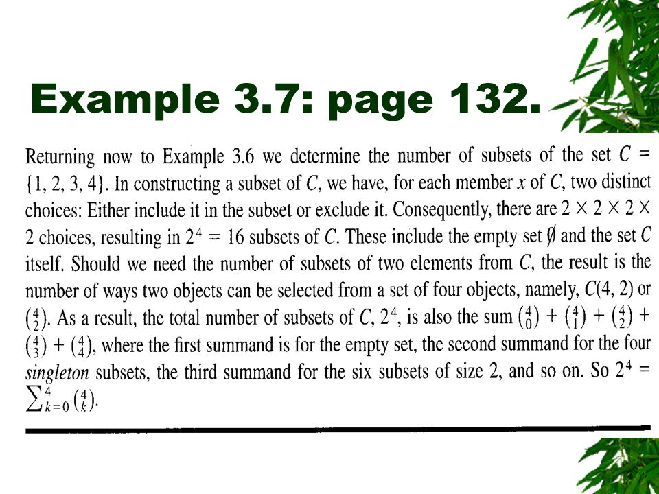 Example 3.7: page 132.