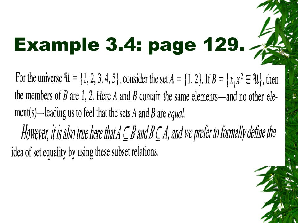 Example 3.4: page 129.