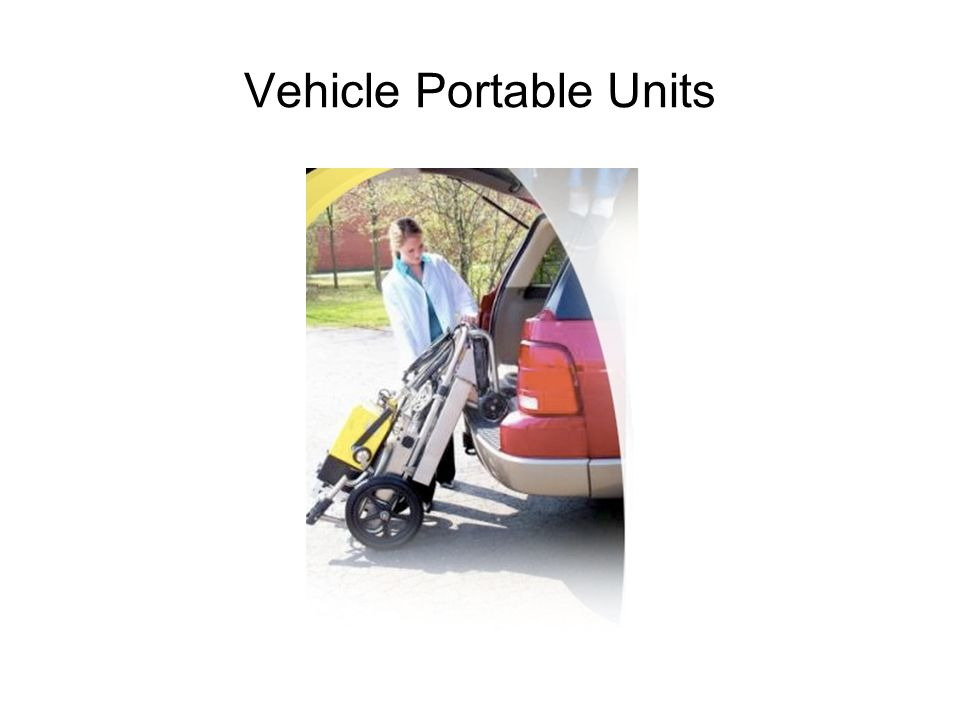 Vehicle Portable Units
