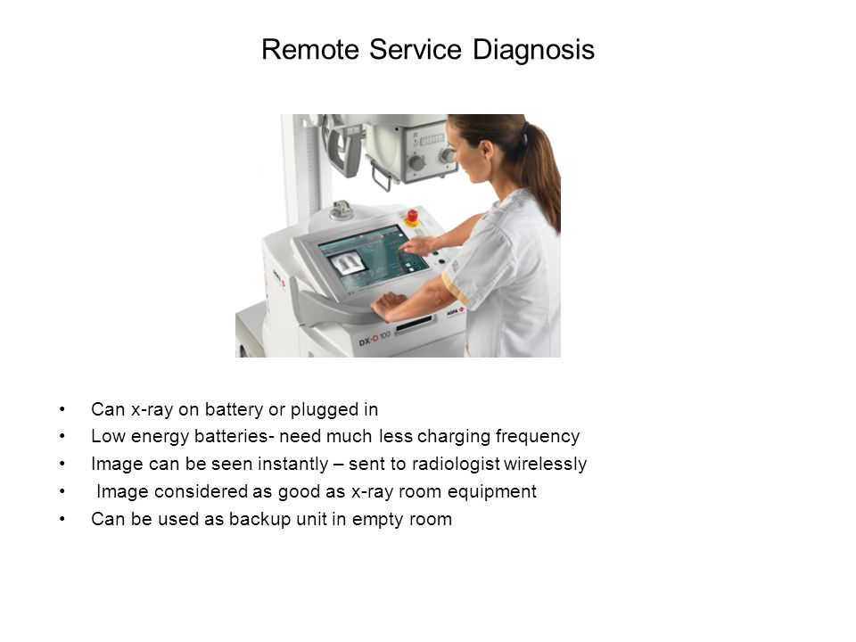 Remote Service Diagnosis