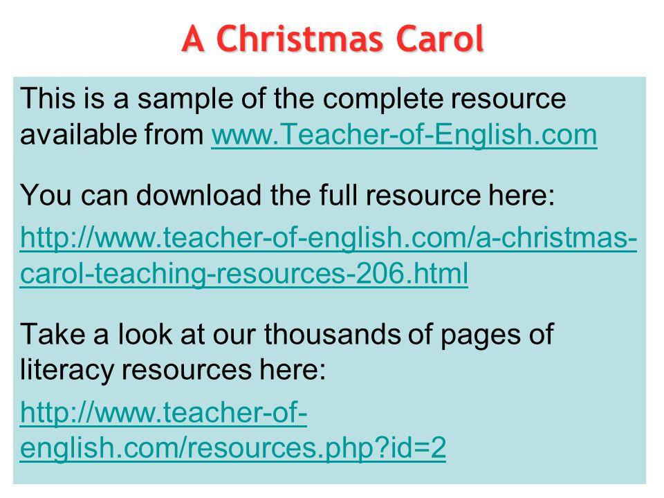 Teacher Of English Com A Christmas Carol 3 Who Is Scrooge Ppt